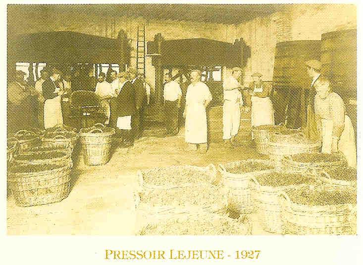 pressoir lejeune - 1927
